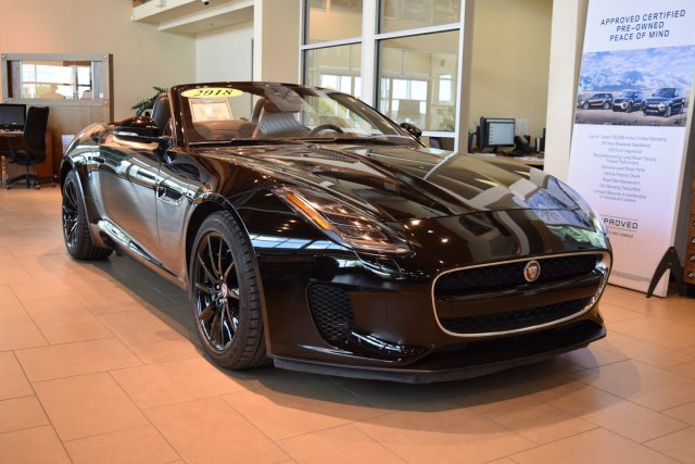 Pre-Owned 2018 Jaguar F-TYPE $76708.00 MSRP