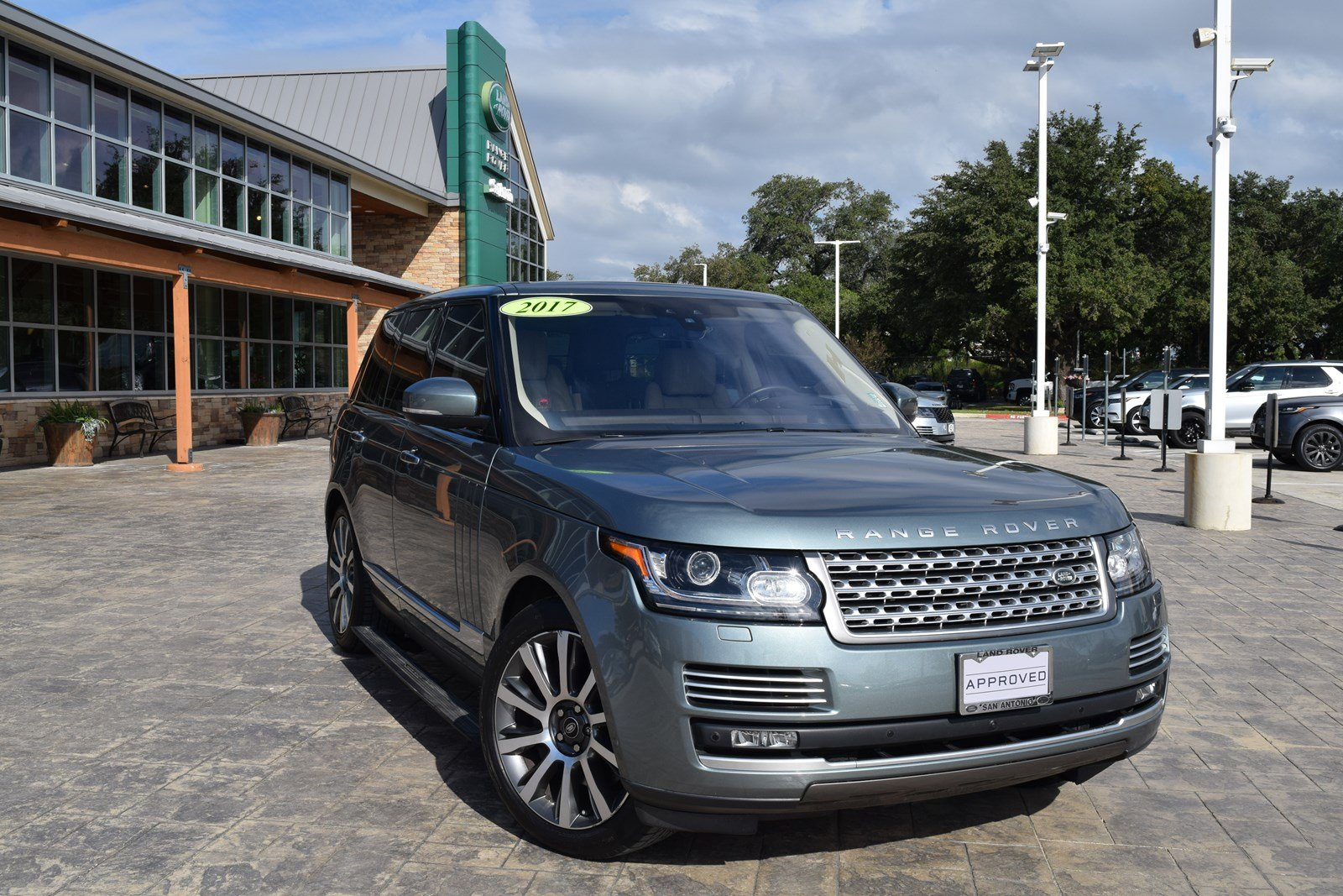 Certified Pre Owned 2017 Land Rover Range Autobiography