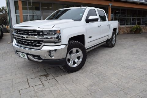 Pre-Owned 2018 Chevrolet Silverado 1500 LTZ With Navigation