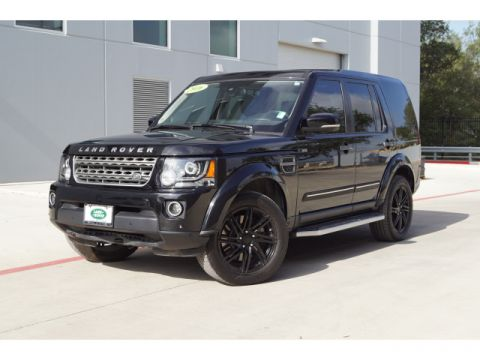 Certified Pre-Owned 2016 Land Rover LR4 HSE With Navigation & 4WD