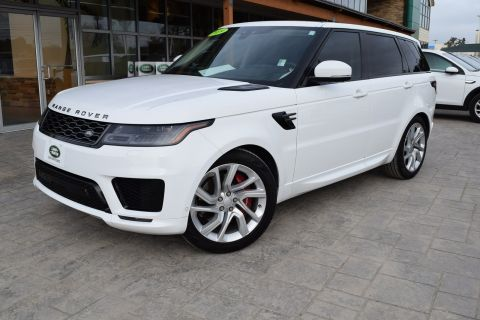 Certified Pre-Owned 2019 Land Rover Range Rover Sport Supercharged With Navigation & 4WD