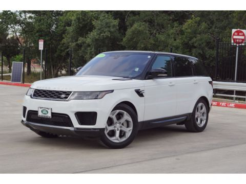 Certified Pre-Owned 2019 Land Rover Range Rover Sport HSE With Navigation & 4WD