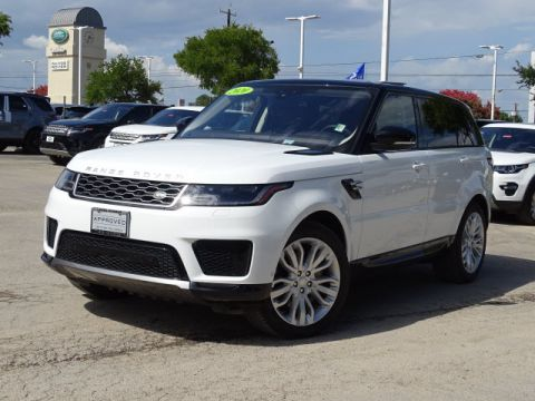 Certified Pre-Owned 2020 Land Rover Range Rover Sport HSE With Navigation & 4WD